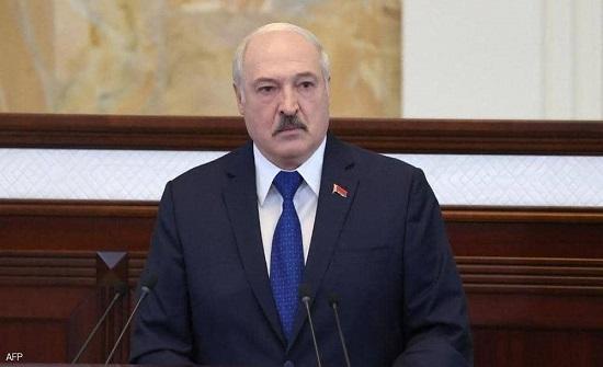 رئيس بيلاروسيا: الطائرة كانت تحلق بالقرب من محطة نووية