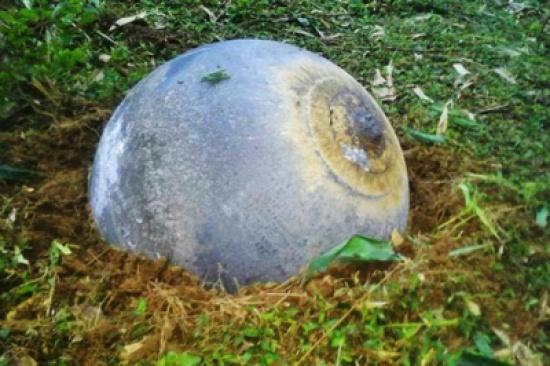 سقوط أجسام غريبة من الفضاء في فيتنام