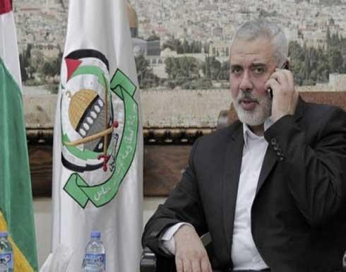 هنية يهاتف شيخ الأزهر ويضعه في تطورات الأوضاع في القدس والأقصى