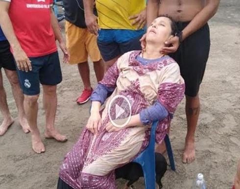 كتبت لها الحياة.. العثور على امرأة مفقودة منذُ عامين تطفو في البحر بكولمبيا (صور وفيديو)