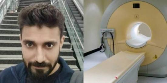 ذهب لزيارة قريبه في المشفى فابتلعه جهاز التصوير المغناطيسي ومات..