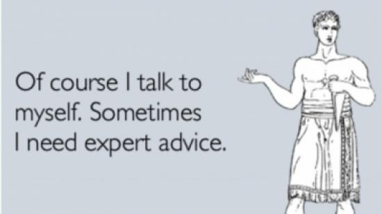 """هل """"تكلم نفسك""""؟.. لا تقلق إذا قد تكون عبقرياً!"""