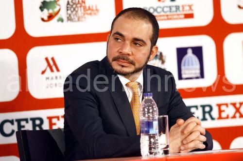 """الأمير علي يقدم نصيحة لرئيس """"الفيفا"""""""