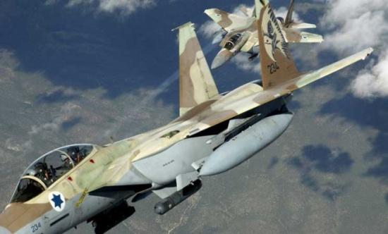 سلاح الجو الإسرائيلي يشن غارة في الجولان