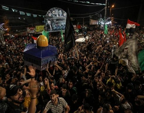 """""""المجاهدون الآن يتبخترون في الأنفاق"""".. حماس: سنعيد البسمة للسكان ونبني البيوت المدمرة"""