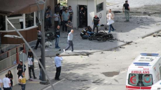 هجوم انتحاري بغازي عنتاب التركية يودي بقتلى