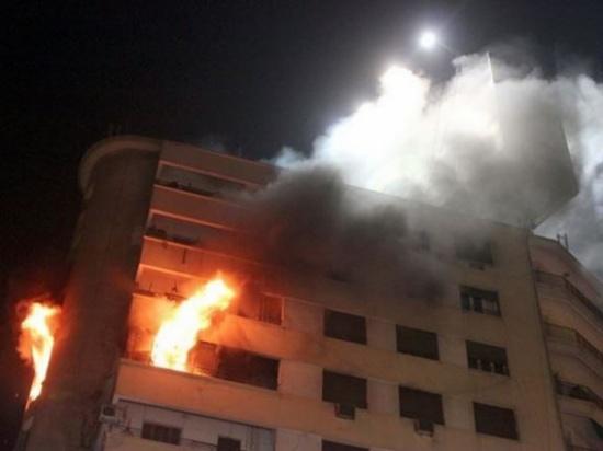 إصابة 3 سيدات بحريق شقة في عمان