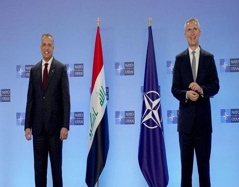 الكاظمي لأمين عام الناتو: العراق ليس ساحة للصراعات