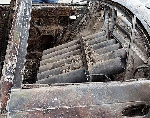 """بقايا سيارة تكشف أسلوب """"خراسان"""" باستهداف مطار كابول"""