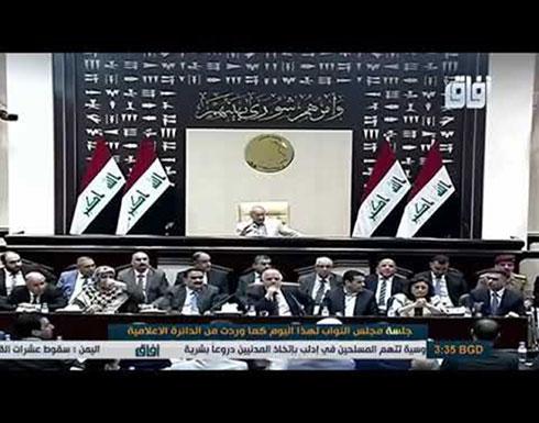بالفيديو.. مشادة كلامية بين العبادي ومحافظ البصرة