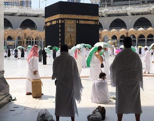 """بعد توقف لسبعة أشهر بسبب """"كورونا"""".. أول صلاة جمعة في المسجد الحرام (فيديو وصور)"""