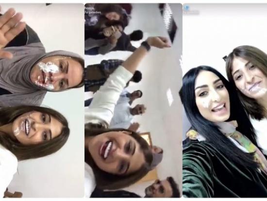 بالفيديو.. والدة وأصدقاء شجون الهاجري يفاجئونها بعيد ميلادها الثلاثين