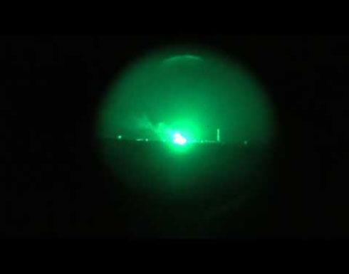 شاهد : تدمير مرابض مدفعية حوثية في الحديدة