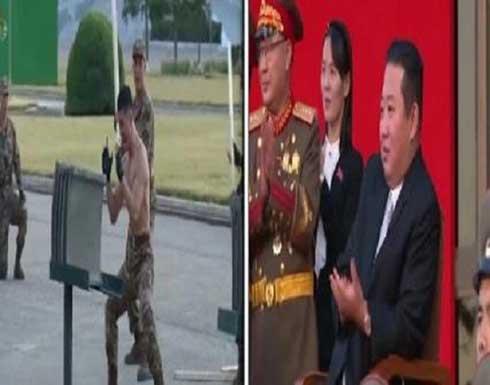 عرض للفنون القتالية أمام زعيم كوريا الشمالية - فيديو