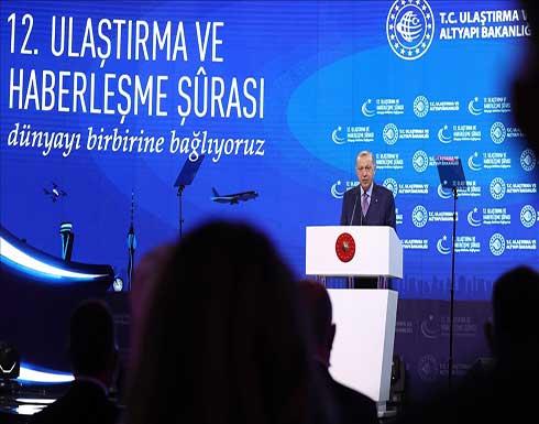 أردوغان: سنبدأ إنتاج قاطرتنا الكهربائية العام المقبل