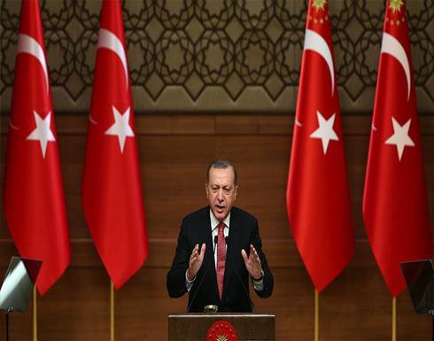 """أردوغان : الأوراق مكشوفة ولا يمكن الاختباء وراء محاربة """"داعش"""""""