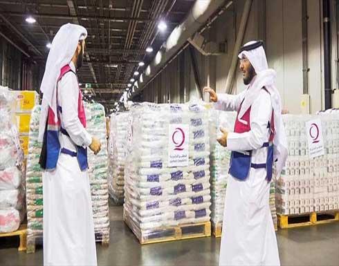 وصول طائرة قطرية تحمل مساعدات إنسانية إلى مطار كابل