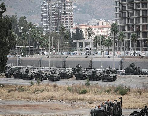 """حشد عسكري تركي على الحدود مع سوريا بعد """"خفض التوتر"""" بإدلب"""