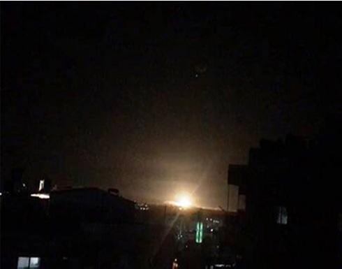 شاهد : الدفاعات الجوية السورية تتصدى لعدوان إسرائيلي
