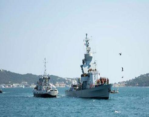 صور : مناورات إسرائيلية - فرنسية في البحر المتوسط