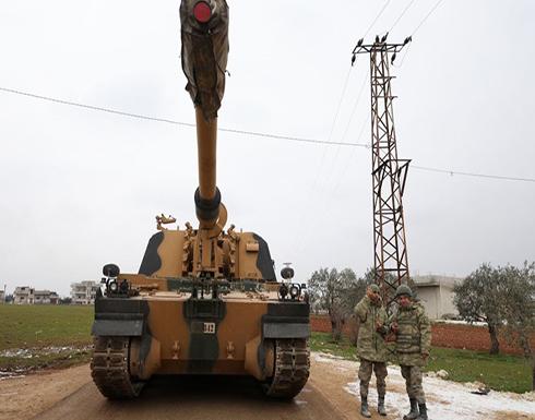 الجيش التركي يستهدف النظام السوري بسراقب