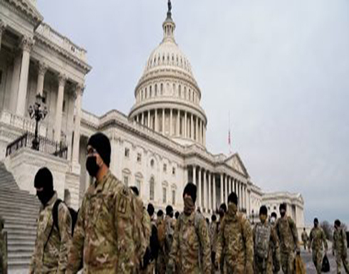تشديد الإجراءات الأمنية داخل الكونجرس الأمريكى ووضع أجهزة كاشفة للمعادن