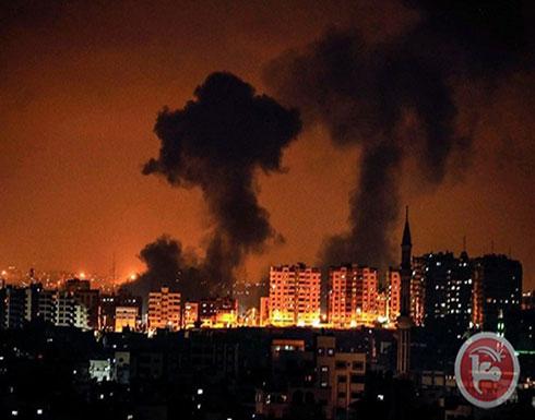 إصابة 4 فلسطينيين بجراح جراء قصف إسرائيلي على قطاع غزة