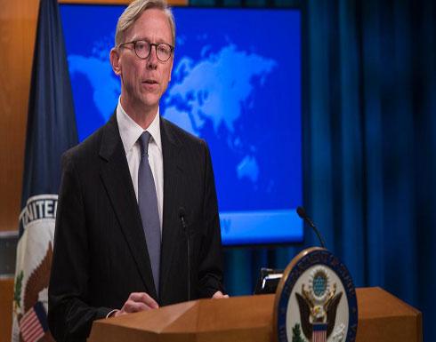 هوك محذراً: لن نمدد الإعفاءات لشراء نفط إيران بعد مايو