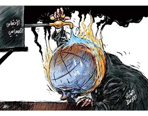 الاحتباس الحراري في الشرق الاوسط