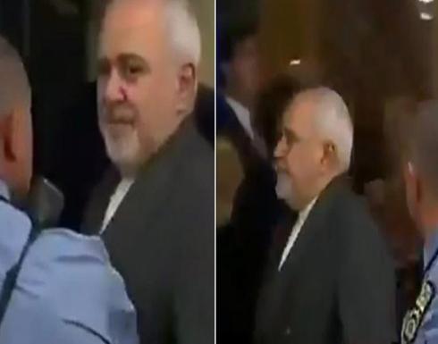 فيديو : رجل أمن في الأمم المتحدة يطارد ظريف ويُحدد تحركاته