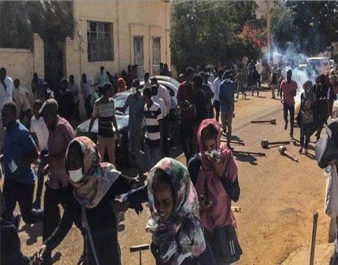 """الشرطة السودانية تفرّق تظاهرات في """"أم درمان"""" غربي العاصمة"""