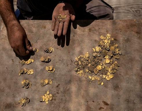 العثور على كنز ذهبي نادر من الفترة العباسية في الرملة - (صور)