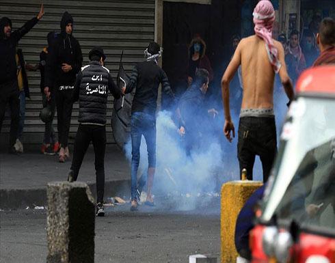 شاهد : فيديو يوثق إطلاق الرصاص على المتظاهرين في بغداد