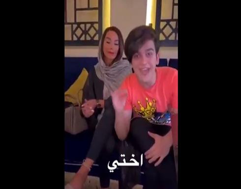 شهاب ملح الانستغرام يثير جدلاً واسعاً لاستعراض جمال شقيقته بالرضاعة .. بالفيديو