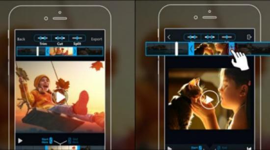تطبيق يتيح قص الفيديو لأجهزة آي فون