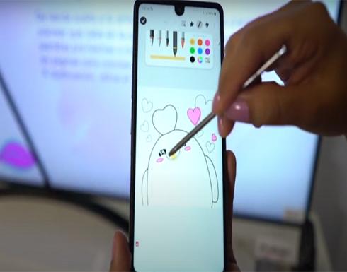إل جي تتحدى أجهزة Note من سامسونغ بهاتف مع قلم ذكي!