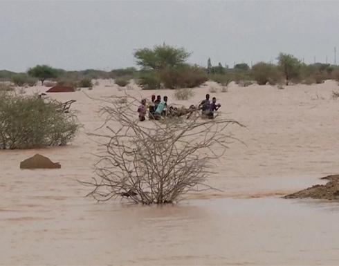 انهيار سد بولاية النيل الأزرق.. عزل قرى جراء فيضانات تجتاح مناطق في الخرطوم