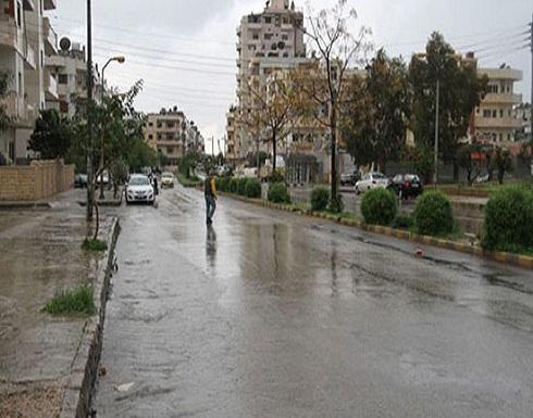 الخميس : هطولات مطرية غزيرة على فترات