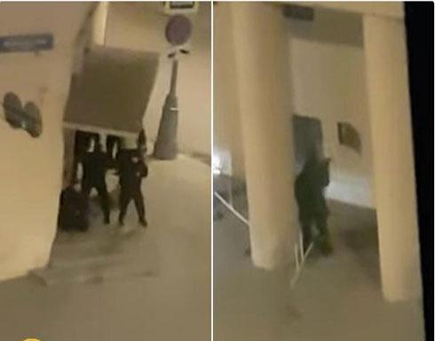بالفيديو : لحظة تصفية مطلق النار على مقر الأمن الفيدرالي الروسي