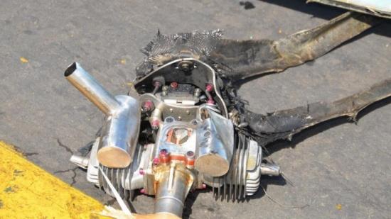 التحالف: اعتراض مسيرة حوثية مفخخة أطلقت نحو خميس مشيط