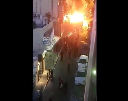 اعتداء على الفلسطينيين في اللد ويافا وطبريا والخضيرة وعكا .. بالفيديو