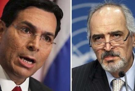 مشادة حادة بين مندوبي سورية وإسرائيل في الأمم المتحدة بشأن الجولان (فيديو)