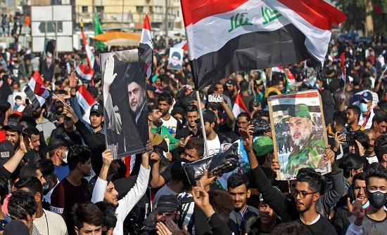 """الصدر يجدد دعوته.. """"أبعدوا بغداد عن رعب الصواريخ"""""""