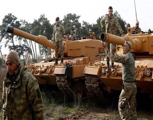 4 كم تفصل القوات التركية عن عفرين