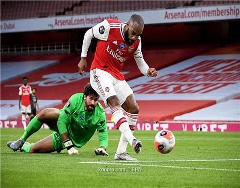 بالصور: آرسنال يعاقب ليفربول على أخطاء الدفاع