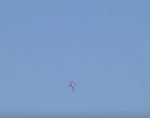 فيديو يظهر لحظة سقوط المقاتلة الروسية عند الحدود السورية التركية