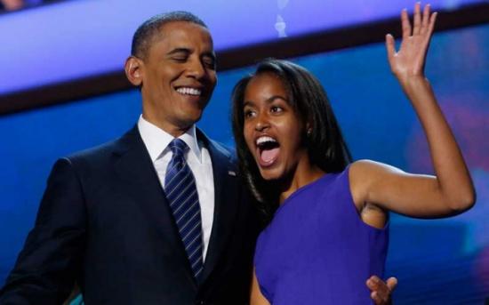 ابنة أوباما تنجو من هجوم خطط له منفذ مذبحة لاس فيجاس