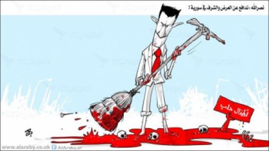 نصرالله : ندافع عن العرض والشرف في سورية !