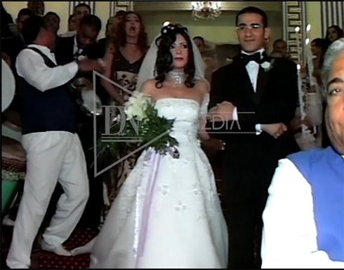 فيديو نادر : عادل إمام يقتحم زفاف أحمد حلمي ويبعده ليرقص مع منى زكي