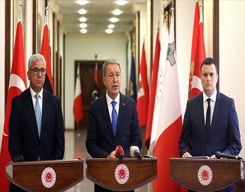 أكار: يجب قطع الدعم عن حفتر الذي يعيق السلام في ليبيا